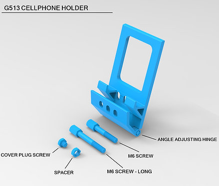 G513 Keyboard Cellphone Holder - Enthusiast version
