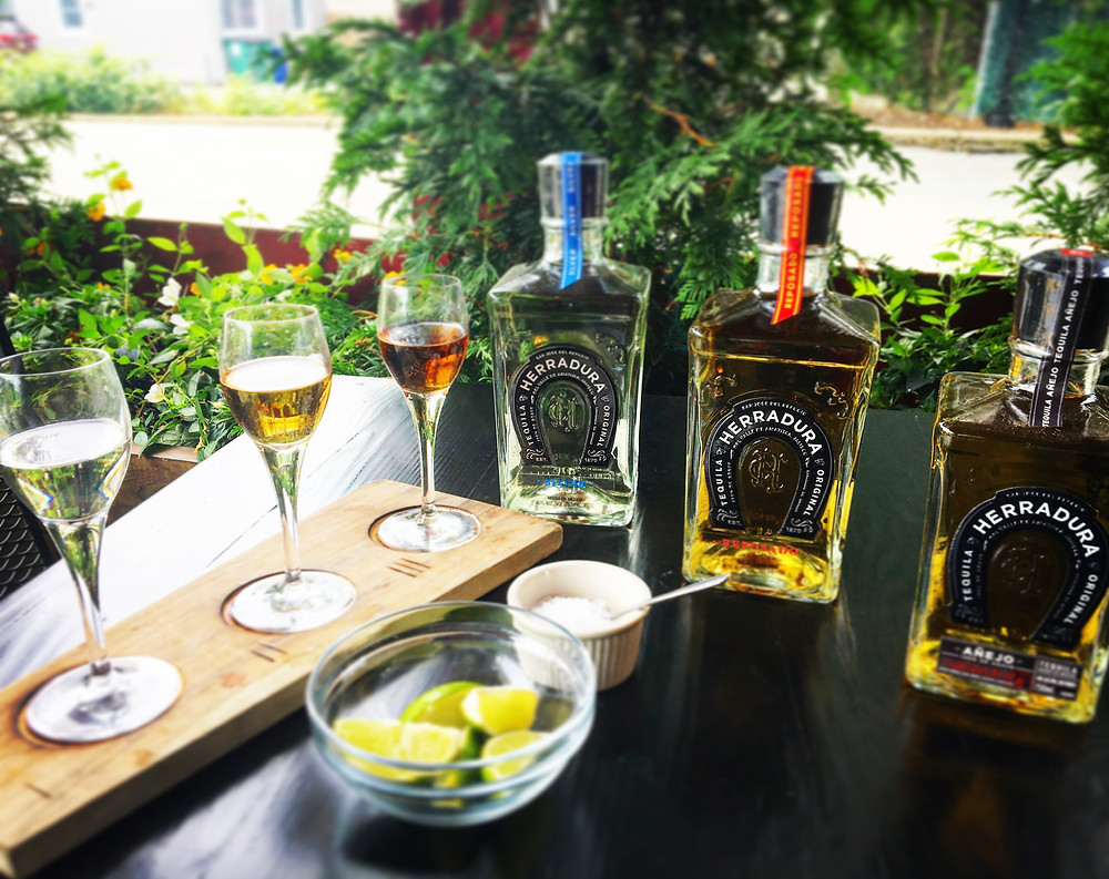 We have added two new Tequila Flights. Herradura Flight: Blanco, Reposado and Añejo. Reposado Flight: Tres Agaves, Heradura and Don Julio. Flights are 3 ounce pours at a great price!