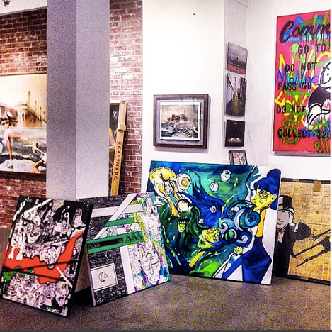 Avant Gallery on Madison Aveneue in NYC procured several pieces.