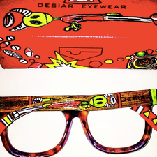 Desiar Eyewear features Not Your Muse Deisnges
