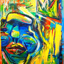 """""""King Without a Crown"""" (sold)"""