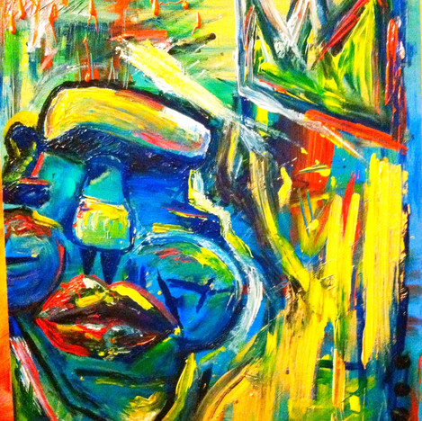 """King Without a Crown"" (sold)"