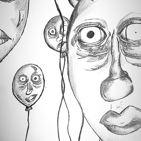 """""""airhead"""" sketch"""