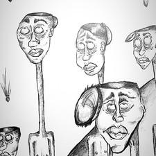 """""""War"""" sketch"""