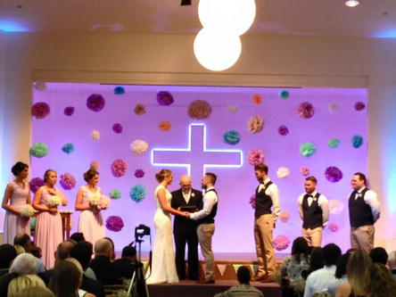 The Popularity of Church Weddings