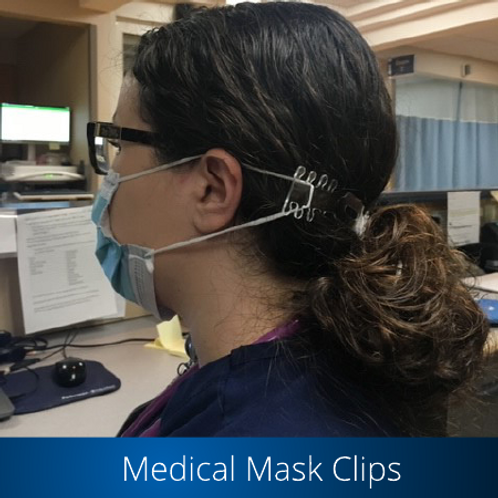 Medical Mask Clips (Pack of 12)
