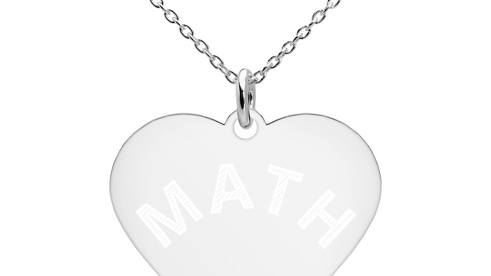 Math Love Necklace