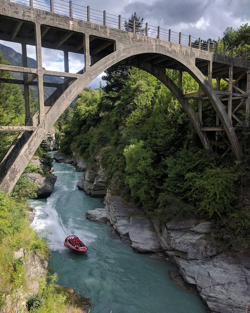 Edith Cavell Bridge, Queenstown, NZ