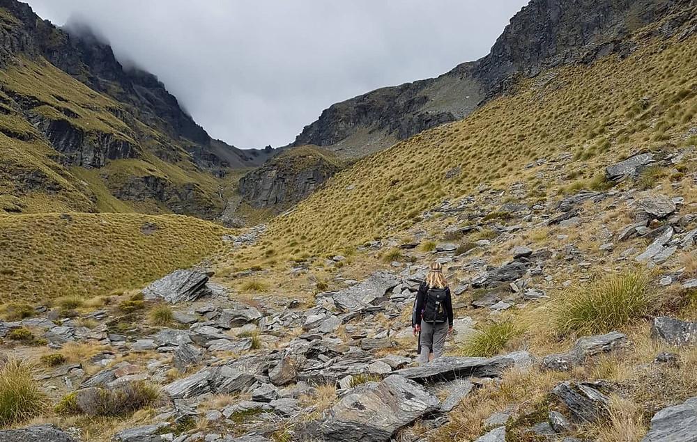 Hiking Cecil Peak, Queenstown