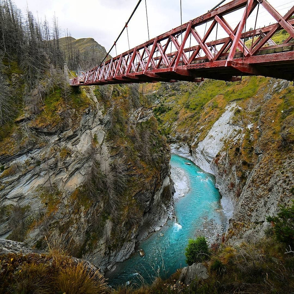 Skippers Canyon Bridge, NZ
