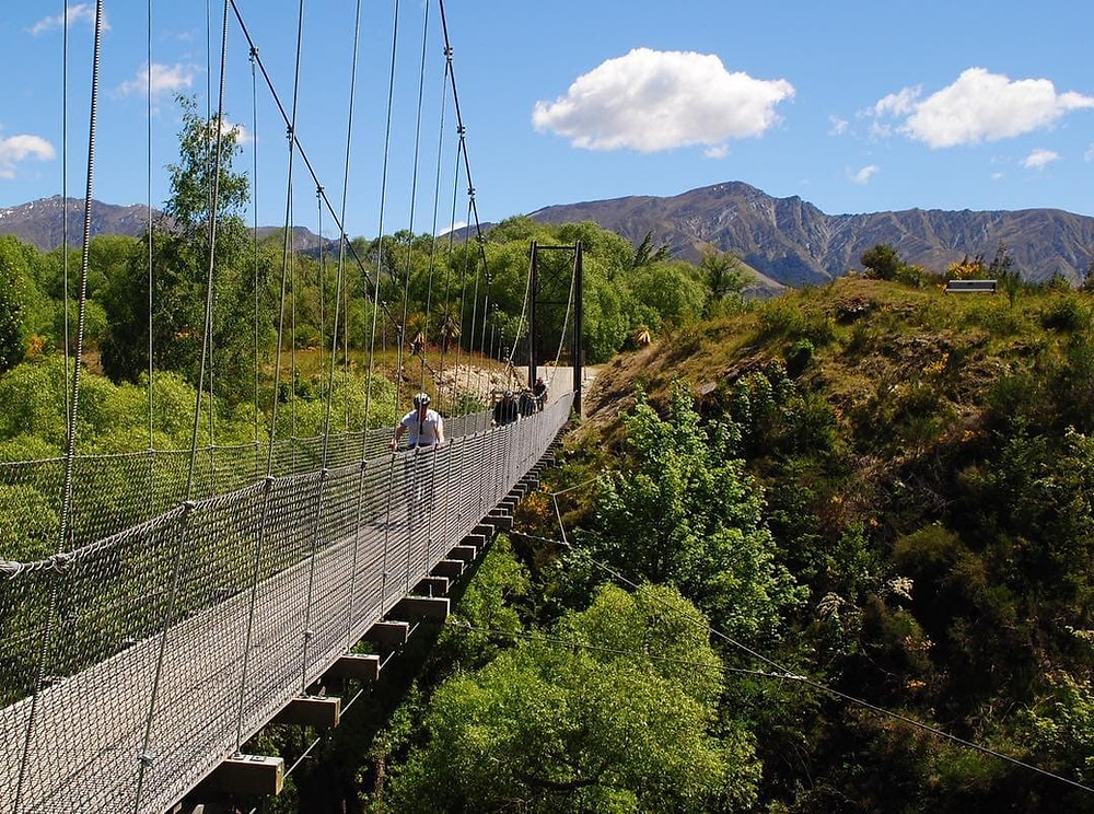 Southern Discoveries Bridge, Queenstown, NZ