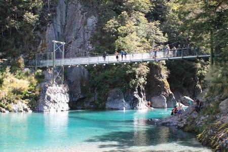 Blue Pools, Haast, NZ | Credit: @sahilbhikha // Instagram