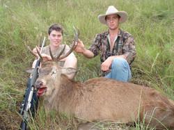 Matt Fox's first stag