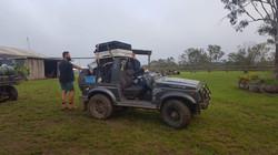Alex Leenman , trainee guide, Mr Fix-it