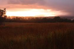 Sunrise at GF