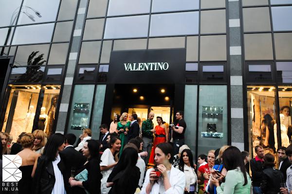valentino opening