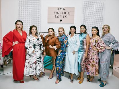 Коллекция для крупных девушек от бренда АМА Unique