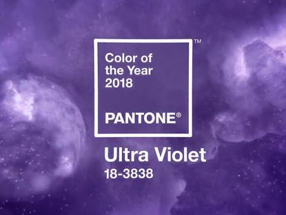 Почему ультрафиолет стал цветом 2018 года