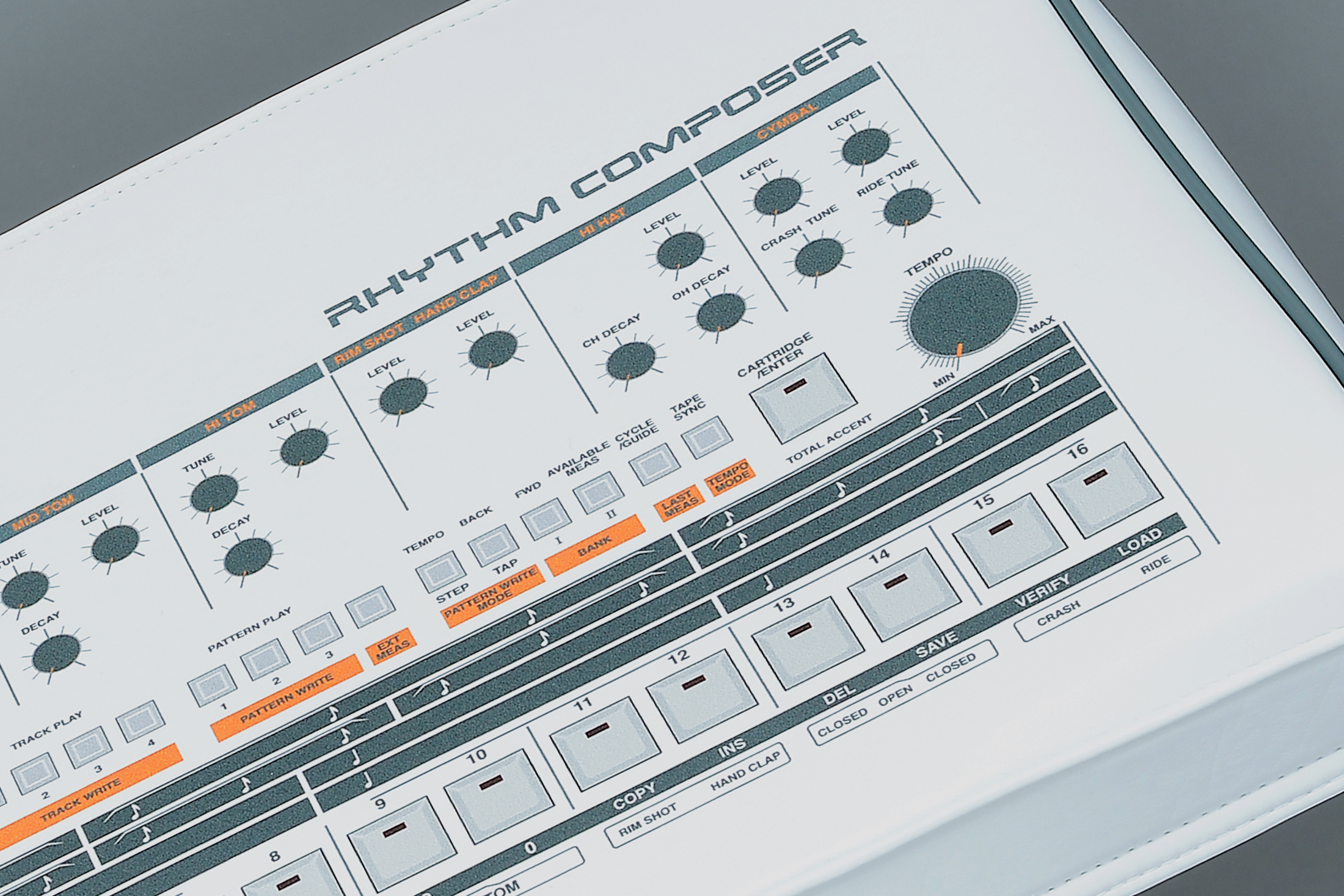 Stardust Covers _ Roland TR-909 SE print detail