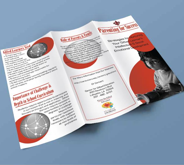 Emerald City Digital | UL Gifted & Talented Program | Brochure