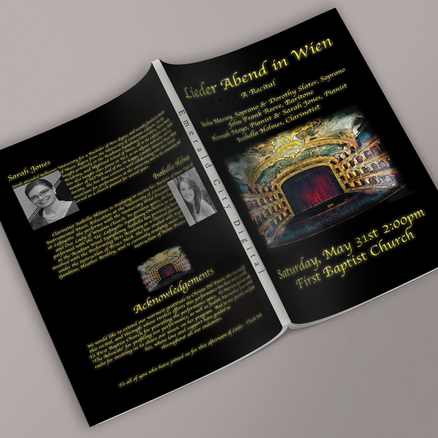 Emerald City Digital | L'Opera de Lafayette | Recital Program