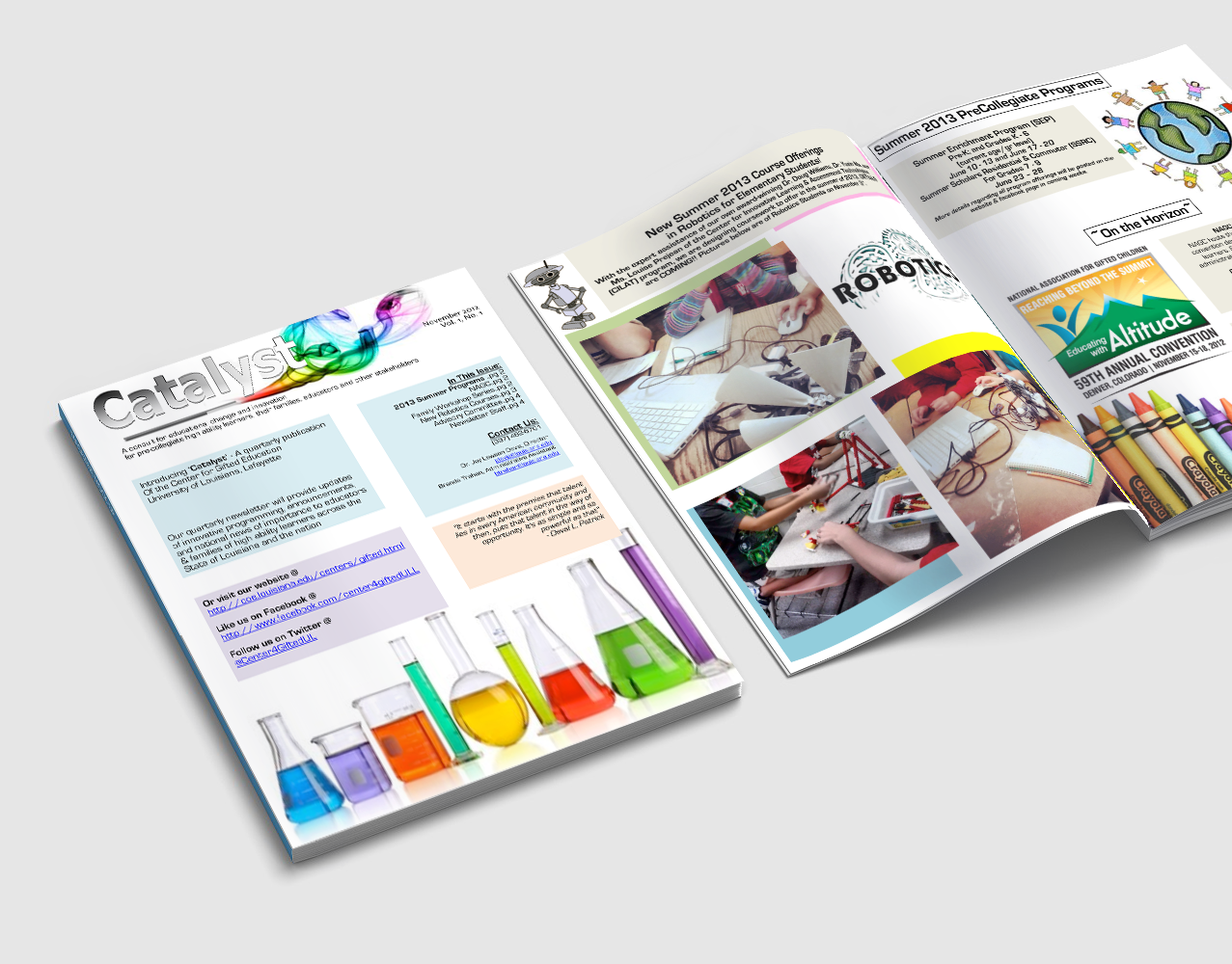 Emerald City Digital | UL Gifted & Talented Program | Newsletter