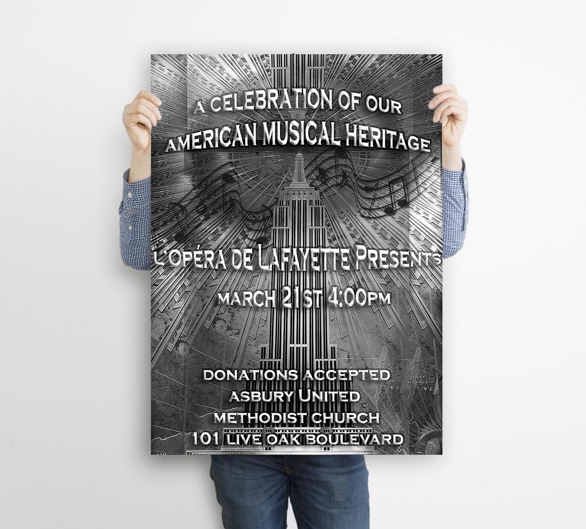 Emerald City Digital | L'Opera de Lafayette | Poster