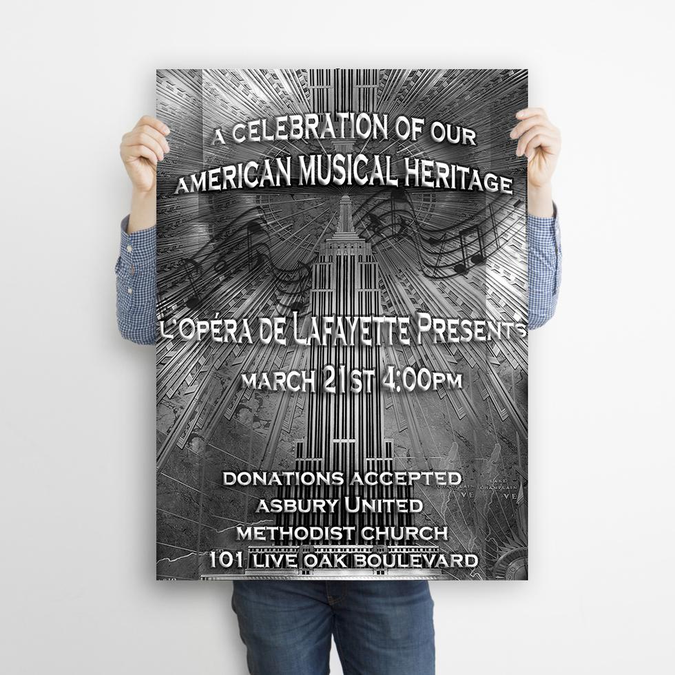 Emerald City Digital   L'Opera de Lafayette   Poster