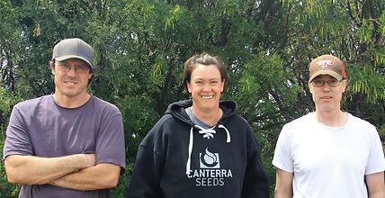 Aaron, Craig, and Tanis Eckart. Siblings.