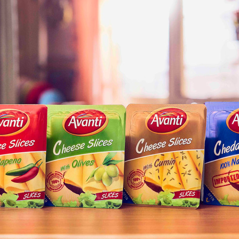 Avanti Cheese Advertisement