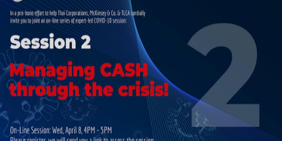 Managing CASH through the crisis ! (McKinsey & Co.)
