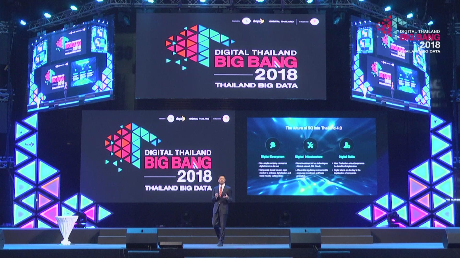 """5G Ecosystem"" โดย Edward Zhou, Vice President, Huawei Technologies Co., Ltd."