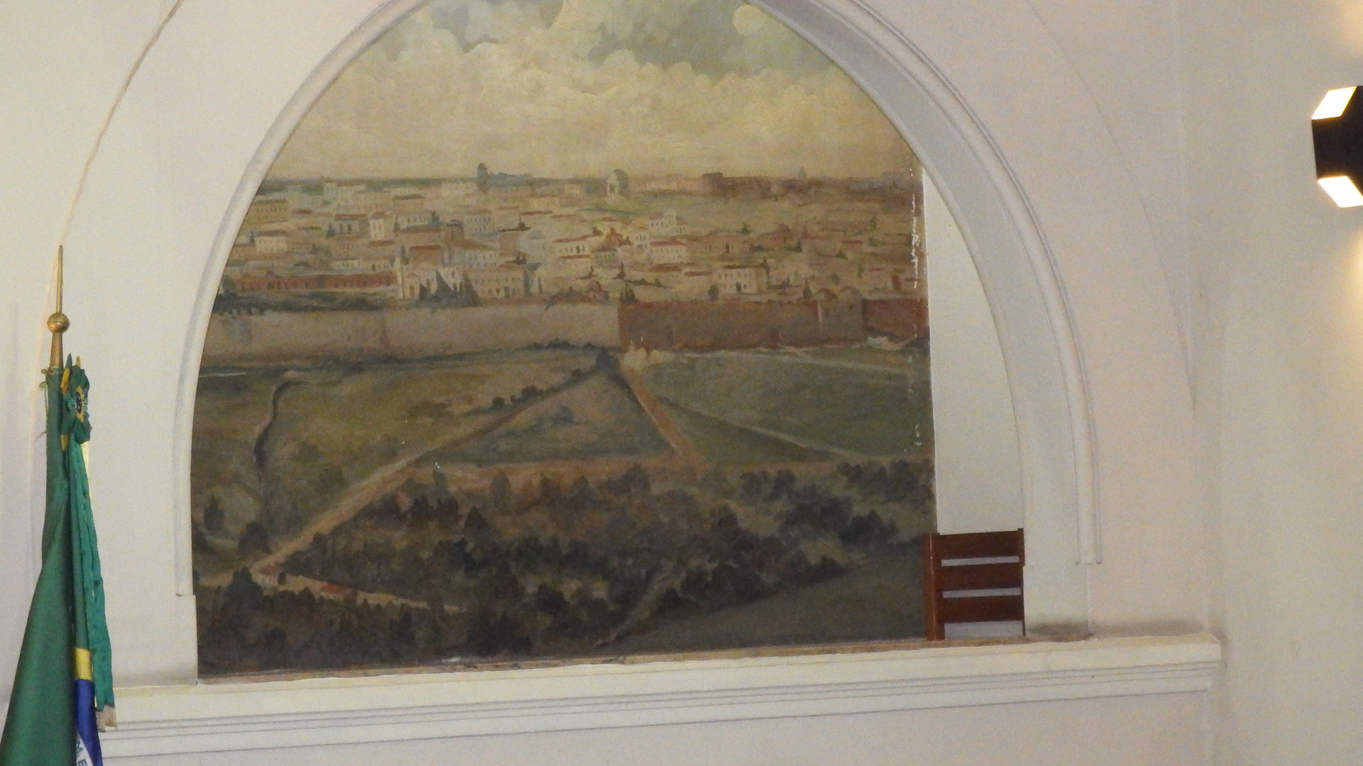 Pintura da cidade de Jerusalém.