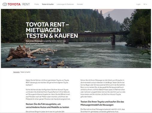 Toyota Rent