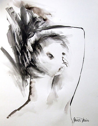 Idra, fine art prints for sale, watercolor, mixed media