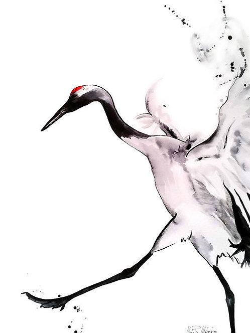 "Allegra Watercolor & Acrylic 24""x18"""