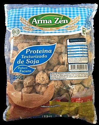 Proteína de Soja Pedaços Escura 250g