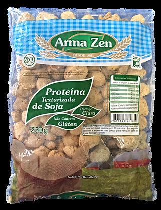 Proteína de Soja Pedaços Clara 250g