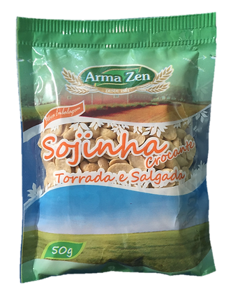 Sojinha Crocante Natural 50g (3 unidades)