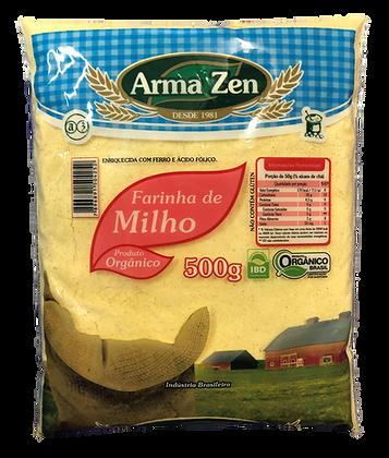 Farinha de Milho (Fubá) Orgânico 500g