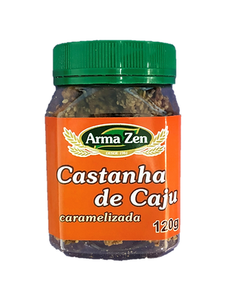 Castanha de Caju Caramelizada - 120g