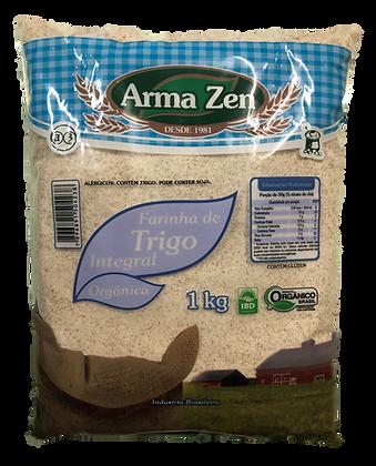 Farinha de Trigo Integral Orgânica 1kg
