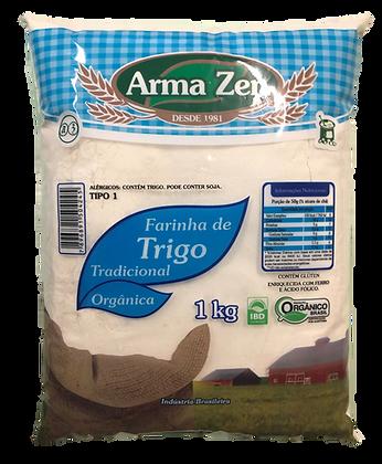 Farinha de Trigo Branca Orgânica 1kg