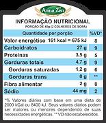 Informação Nutriconal - Granola Sem Glúten Cacau