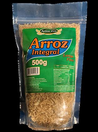 Arroz Agulhinha Integral 500g (zíper)
