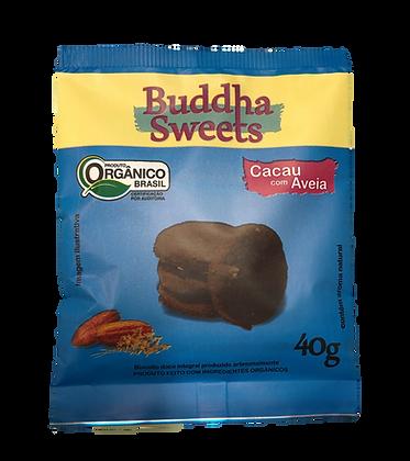Biscoito Buddha Sweets 40g - Cacau c/ Aveia (3 unidades)