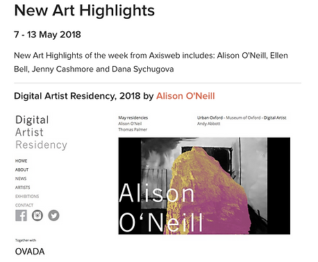 Alison O'Neill Axisweb New art hights.pn