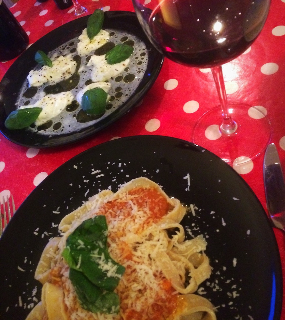 Pasta & Wine