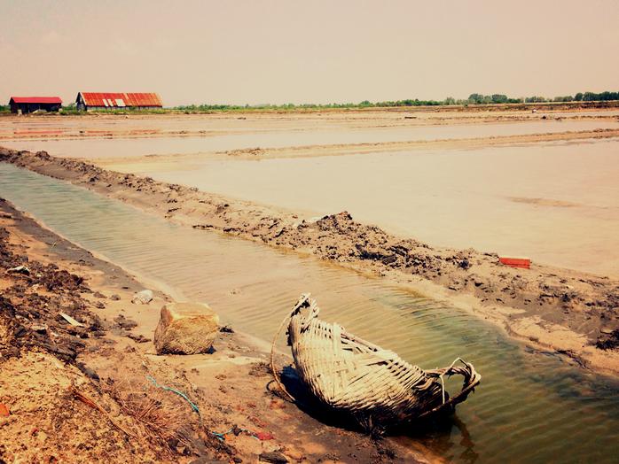 Sea Salt Fields in Kampot