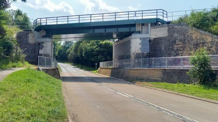 Network Rail complete £2.8m bridge upgrade